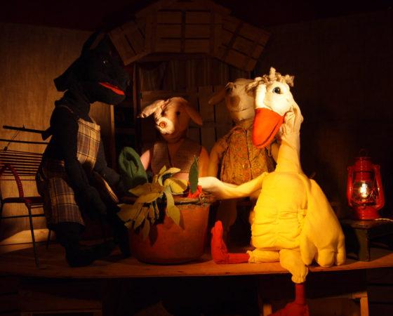 Spettacolo di pupazzi- Muppet- La zuppa di Sasso