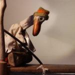 L'Anatra e la morte- Disegni di sabbia