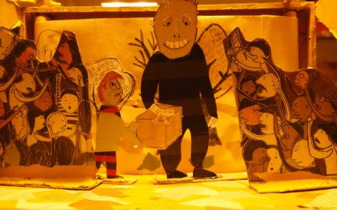 L'uomo Mangia-carta Laboratori per bambini