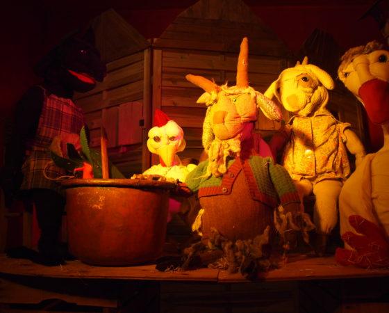La Zuppa di Sasso- Speattacolo di muppet