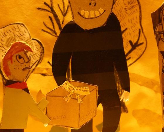 L'uomo Mangiacarta- Spettacoli di carta e cartone